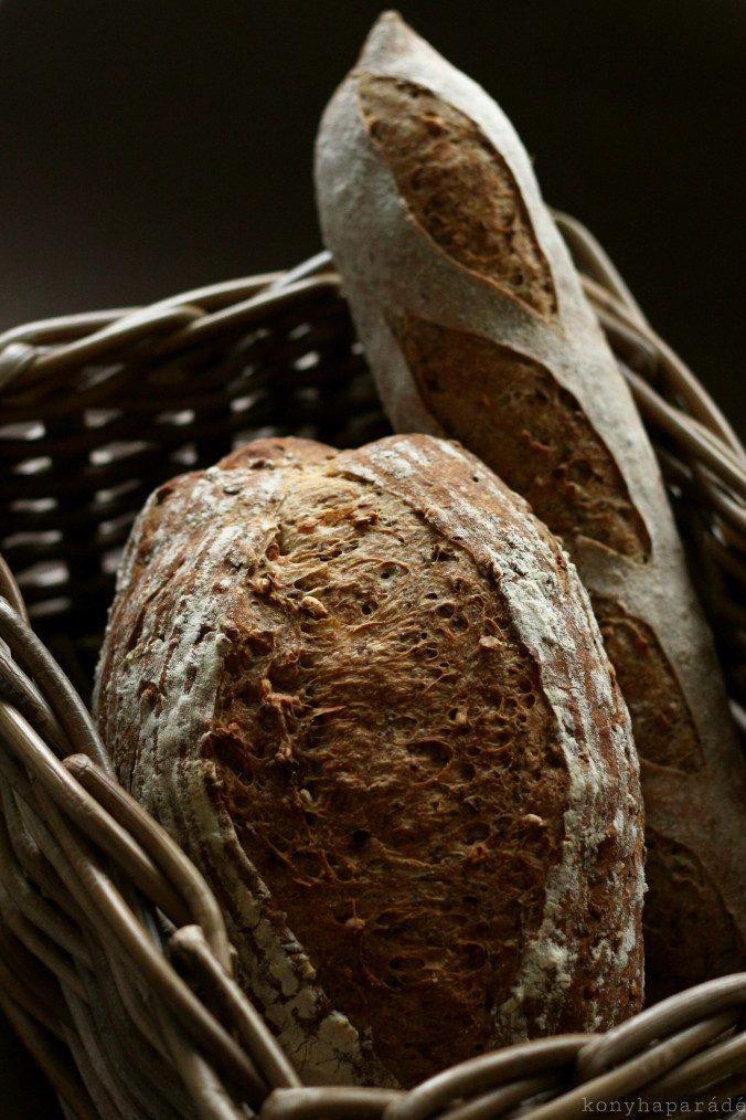 tönkebúza kenyér