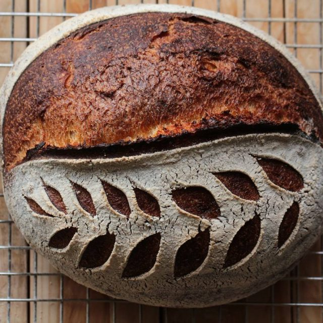 Im in sourdoughbreadlove! sourdough sourdoughbread kovaszoskenyer homemade bbga breadbosses levainhellip